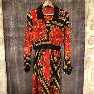 Zara Basic Floral Dress NWT